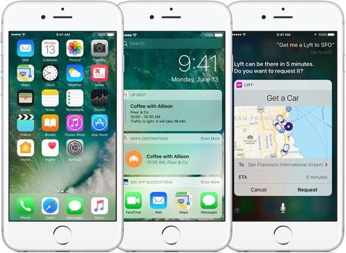 iOS 10 с iPhone 7 в iCenter.bg