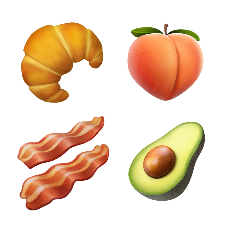 Emojis - храни