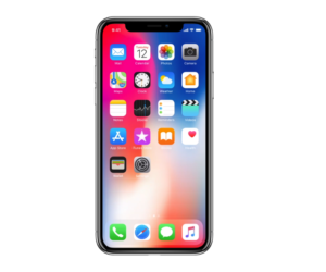 iPhone X screen