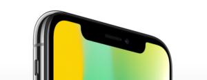 iPhoneX екран