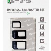 Комплект адаптери за СИМ карти 4smarts