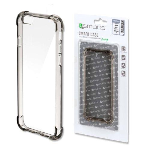 Хибриден удароустойчив калъф за iPhone 7 8 от 4smarts - сив-прозрачен