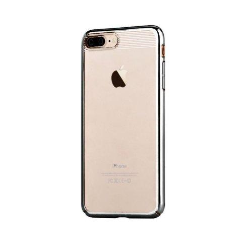 Comma Brightness 360 Case - тънък поликарбонатов кейс за iPhone 8 Plus, iPhone 7 Plus сребърен