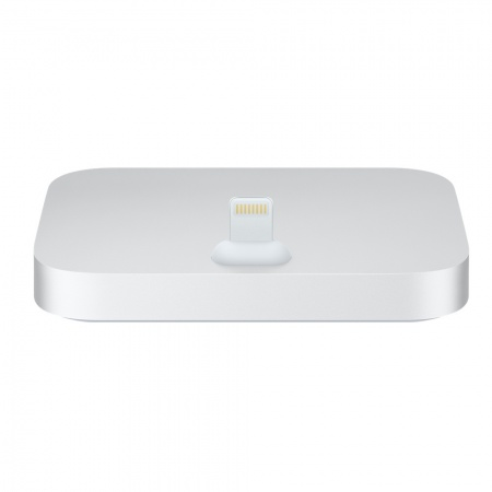 iphone dock silver