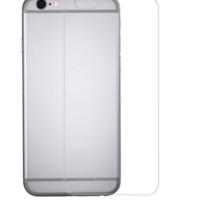 Devia Jade Full Screen Tempered Glass - покритие за дисплея и покритие за задната част за iPhone 6, iPhone 6S (черен)